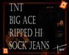 ~TNT~ Hi Sock Pants