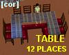 [cor] Big table 12 sit