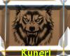 ~K~Wolf Back Tattoo -M-