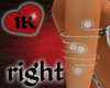 !!1K ARMBAND SILVER RIGH
