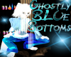 Ghost Bottoms Blue