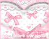Pink Bow Heart v2