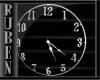(RM)Steel wall clock