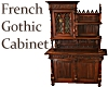 French Gothic Cabinet
