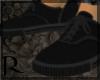 L|Black Vans