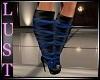 Blue Fantasy Boots