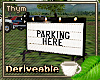 Parking Marquee
