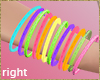 fluo right bangles