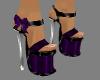 {LA} Purple heels