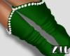 [zuv] santa socks green