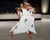 spring white sequindress
