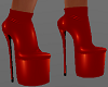 H/Hot Devil Red Boots