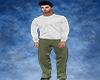 Sage Green Formal Pants