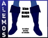 Blue Mage Boots