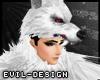#Evil White Wolf Helm