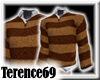 69 Sweater Stripe-BrnWht