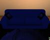 Lu's Blue Rose Sofa