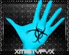 ~M Bionic gloves blue