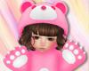 Kid Bear Pink