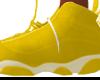 JORDAN GOLD SNEAKERS