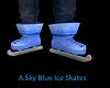 Blue A.Sky Ice Skates