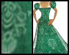 Green Regency Dress