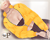 Puff Jacket Mustard