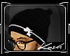 Kd.Akomplice Beanie B/W