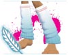 LEx~Turquoise Leg Cozies