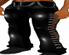 Goth Relaxed PVC Jeans C