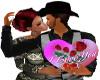 Ma's sweet kiss heart