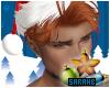 Santa Hat + Hair Ginger