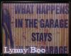 *Garage Rusty Sign