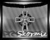 *SK*Cross Necklace