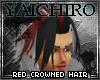 Red Crowned Hair