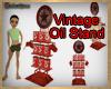 Vintage Oil Stand
