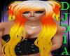 Opal CandyCorn Hair
