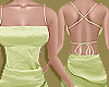 Green Robe Canvas Dress