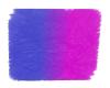 Neon Blue Pink Fur Rug