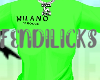 Milano Tee Green