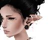 elf pink flower ears