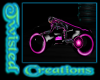 pink tron bike