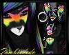 Rainbow male furry