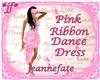 *jf* Pink Ribbon Dress