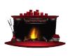 Heart Fireplace