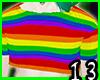 Rainbow Andro Crop
