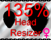 *M* Head Resizer 135%