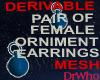 Orniment Earrings Mesh