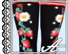 AP: Berry Socks~ Black