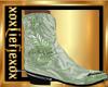 [L] mint Green Boots M